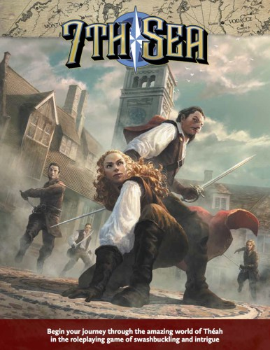 7th Sea Second Edition cover